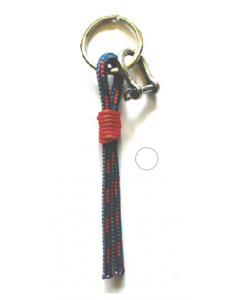 Porte-clés avec cordage et manille