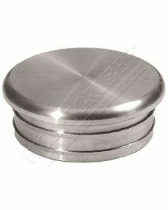 Embout de main-courante plat inox (à frapper)