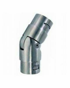 Raccord de main-courante inox orientable 90°/180°