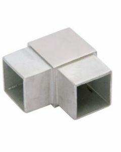 Raccord de main-courante 90° carré