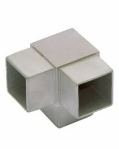 Raccord de main-courante carré 3 départs