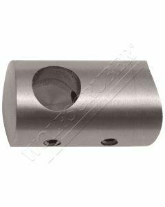 Support de lisse sur tube fixe traversant borgne gauche