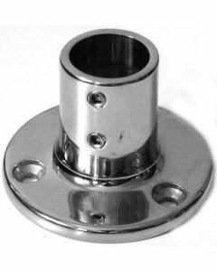Pied de chandelier à 90° platine ronde A4