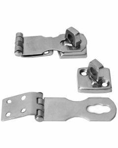 Charnière à cadenas A2 L67x24x1,5 mm