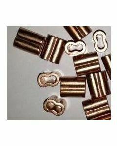 Manchon cuivre forme de 8