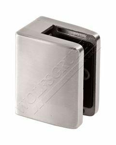 Pince à verre carré, profil plat, 55x70
