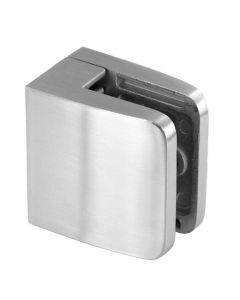 Pince à verre carré, profil plat, 55x55
