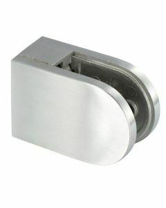 Pince à verre demie-ronde, profil plat, 62x45
