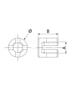Serre câble  (croisement de câble à 90°)