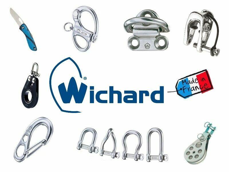 Accastillage WICHARD- Fabriqué en FRANCE